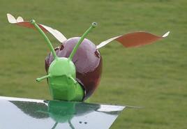 escargot volant