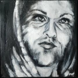 Autoportrait avec la capuche