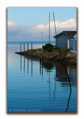 Vieux Port ostréicole de Cassy-Lanton sur le Bassin d'Arcachon