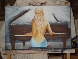 Série Orchestre de chambre - La pianiste -