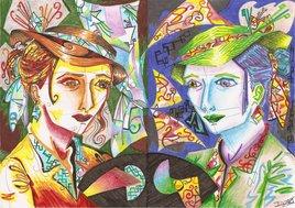"""L'Autre """"je"""" - portraits miroirs"""