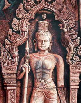 Dvarapala du Banteay Srei