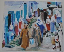 « scènes de vie » : la souika 1