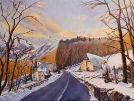 Route hivernale de SUPERBAGNERES