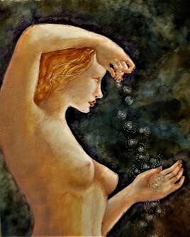 Aphrodite vient de l'écume blanche...