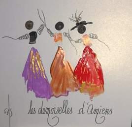 Les Demoiselles d'Amiens .
