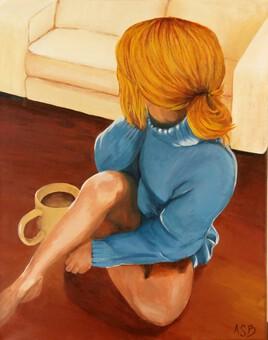 Femme à la tasse