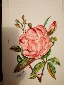 Je vous offre cette rose
