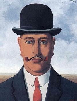 ceci n'est pas une pipe .. Magritte revisité :)