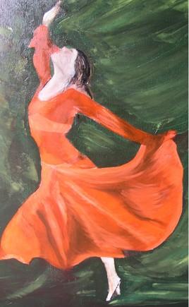la danseuse rouge