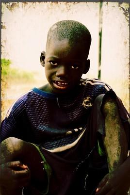 Enfant mendiant