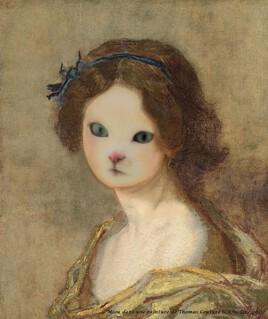 Miou dans une peinture de Thomas Couture..