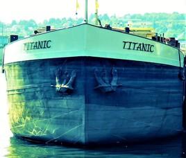 le Titanic vers  Conflans..