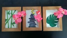 Toiles zen avec ses orchidé es