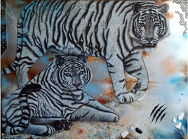 Tigres bleus