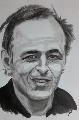 Jean-Jacques Goldmann (encre de chine)