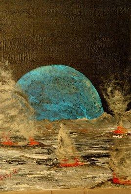 Peinture Paysage interstellaire
