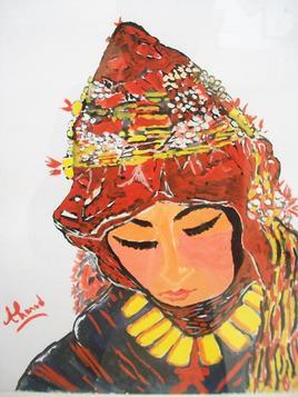 Femme Amazigh Ait Hdiddou