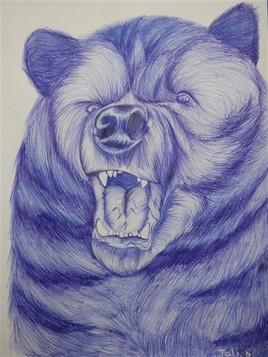 La colere de l'ours