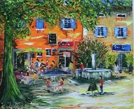 Place du Sablas - Labeaume