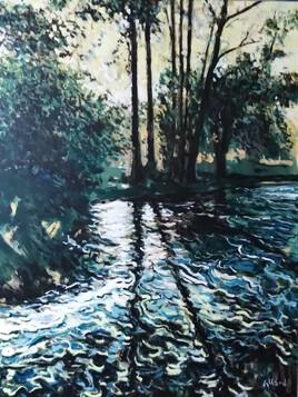 Après la cascade, aux rainettes