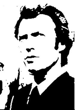 Portrait de Clint Eastwood