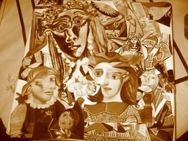 Picasso  toiles métamorphosées