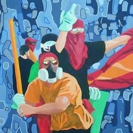 Peinture révolte