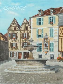 Place St Nicolas à Auxerre