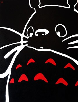 Black Totoro