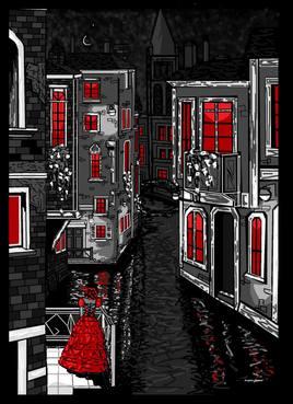 Lune à Venise