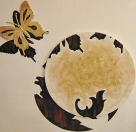 Monde et papillon