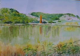 Automne au lac de Mison