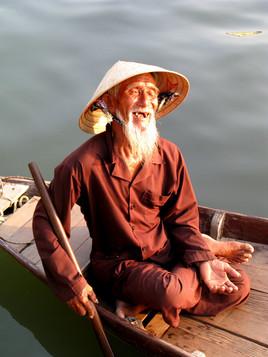 Sourire de grand Père