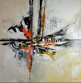 HOBORCIL, peinture abstraite acrylique, moderne et contemporain