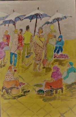le marché de Tana