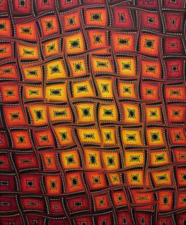 Mouvements de couleurs flamboyantes
